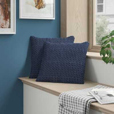 Graziano Quilted Square Pillow Cover & Insert - Wayfair