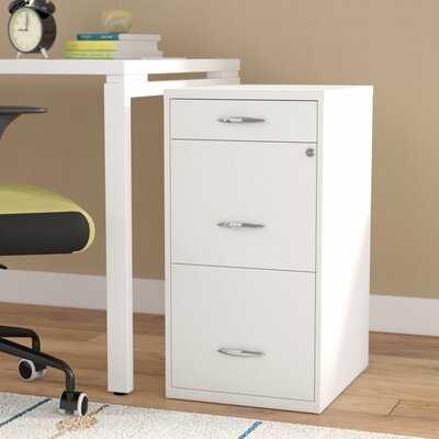 Bottomley Steel 3-Drawer Vertical Filing Cabinet - Wayfair