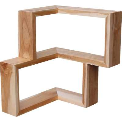 Tronk Design Franklin Wall Shelf Finish: Maple - Perigold