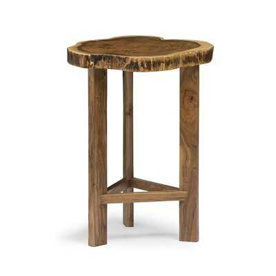 Beyers Round End Table - Wayfair