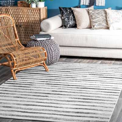 Cassidy Modern Stripes Area Rug - Loom 23