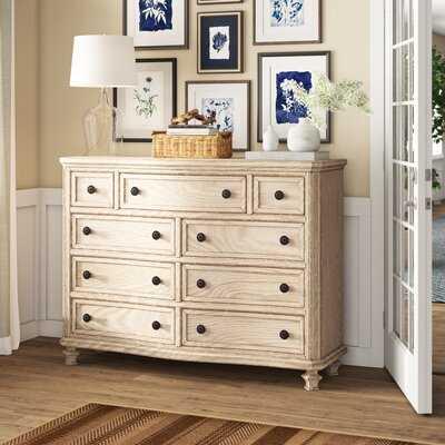 Bretenieres 9 Drawer Standard Dresser/Chest - Birch Lane