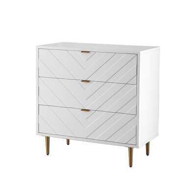 Anding 3 Drawer Accent Chest - Wayfair