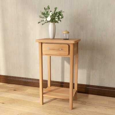 Jandrain End Table with Storage - Wayfair