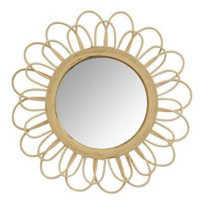 Radeema Rattan Eclectic Accent Mirror - Wayfair