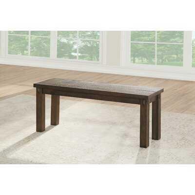 Brenner Wood Bench - Wayfair