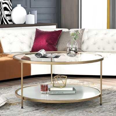 Cvetil Coffee Table with Storage - Wayfair