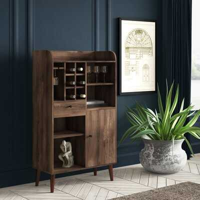 Pryor Wine Bar with Wine Storage - Wayfair