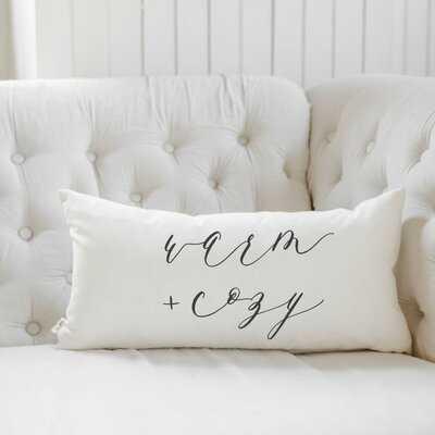 Warm And Cozy Cotton Lumbar Pillow Cover - Wayfair