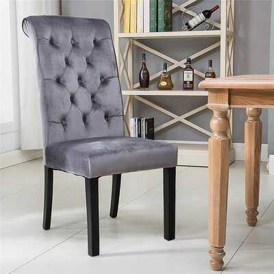 Alixandria Tufted Linen Upholstered Parsons Chair (Set of 6) - Wayfair