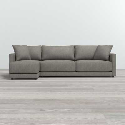 Gather 2-Piece Left Arm Chaise Sectional - Crate and Barrel