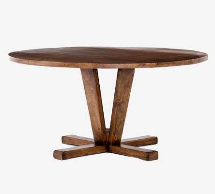 Parkview Reclaimed Wood Round Dining Table - Pottery Barn