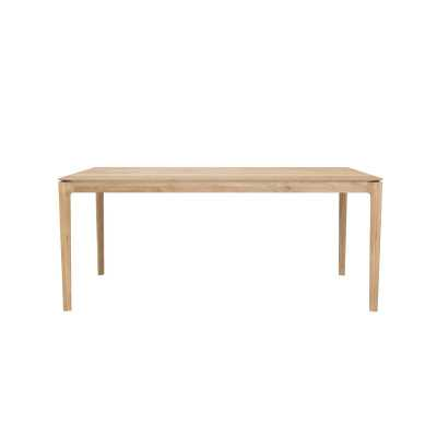 "Ethnicraft Bok Solid Wood Dining Table Color: Natural Oak, Size: 30"" H x 71"" L x 35"" W - Perigold"