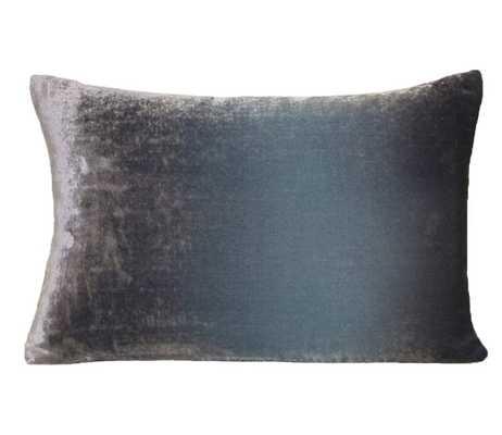 "Kevin O'Brien Studio Velvet Throw Pillow Color: Dusk, Size: 14"" x 20"" - Perigold"