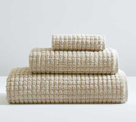 Simply Taupe Aerospin(TM) Sculpted Hand Towels - Pottery Barn