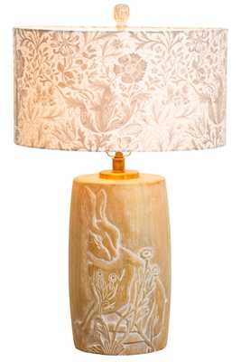 Forest Lamp in White Wash - Caravan Living
