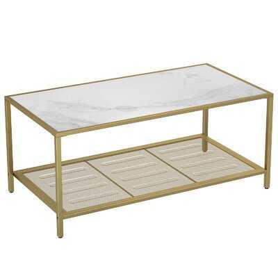 Frame Coffee Table with Storage - Wayfair