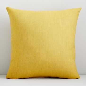 """Sunbrella Indoor/Outdoor Canvas Pillow, 20""""x20"""", Citrus - West Elm"""