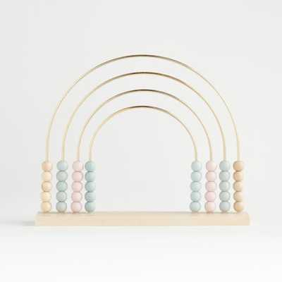Rainbow Abacus - Crate and Barrel