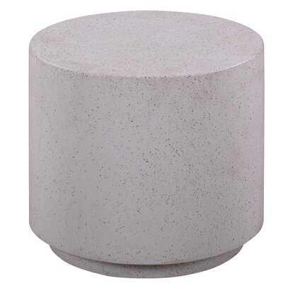 Degraw Drum End Table - Wayfair