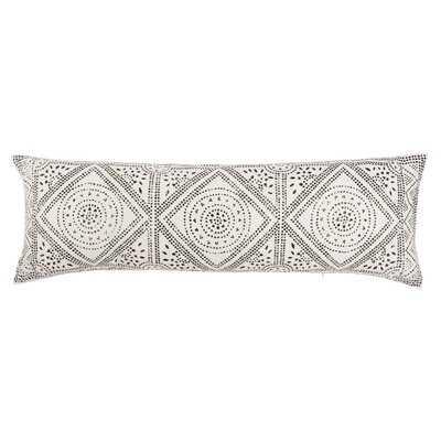 Swett Cotton Geometric Lumbar Pillow - AllModern
