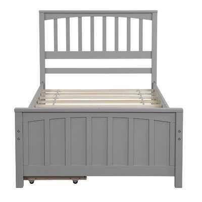 Storage Twin Storage Platform Bed - Wayfair