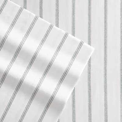 Rennes 200 Thread Count Striped 100% Cotton Sheet Set - Wayfair