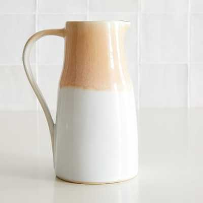 Pitcher, Stoneware & Blush, Individual - West Elm
