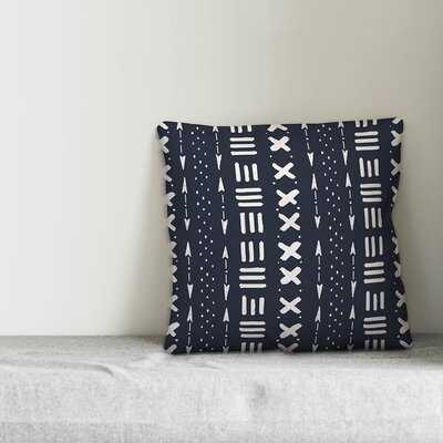 Waddell Tribal Mudcloth Pattern Throw Pillow - Wayfair