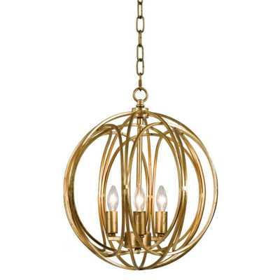 Regina Andrew Ofelia 3-Light Globe chandelier - Perigold