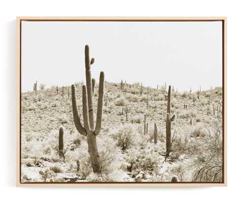 Dusty Cacti Art Print - Minted