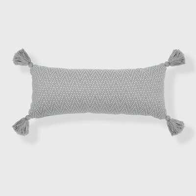 Herringbone Rectangular Pillow Cover & Insert - Wayfair