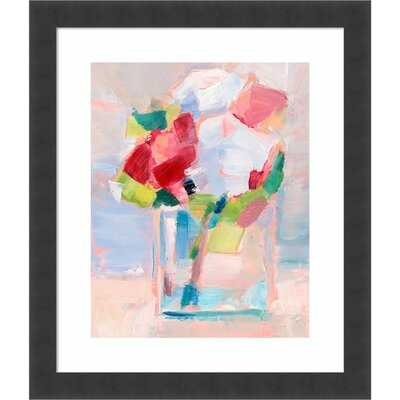 Framed Art Print 'Abstract Flowers In Vase II' By Ethan Harper - Wayfair