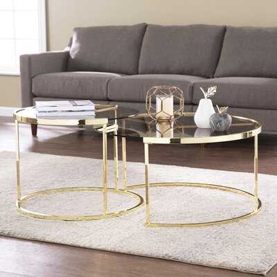 Cothren 2 Piece Coffee Table Set - Wayfair