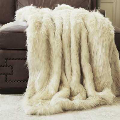 Gambrell Iced Fox Faux Fur Blanket - AllModern
