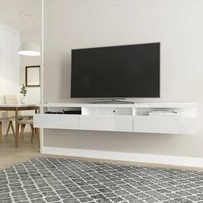 "Julius Floating TV Stand for TVs up to 75"" - Wayfair"