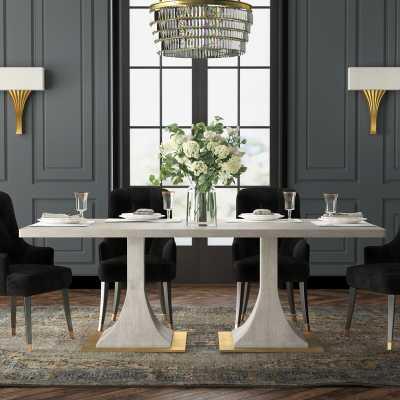 Badgley Mischka Home Capistrano Dining Table - Perigold