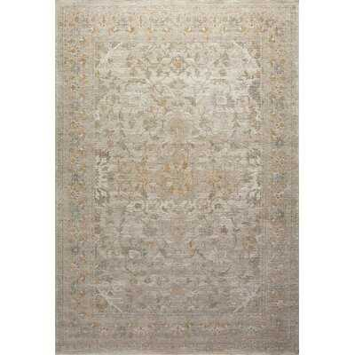 Rosemarie Floral Ivory/Natural Area Rug (Back in Stock Dec 17, 2020)95% Polypropylene and 5% polyester pile - Wayfair