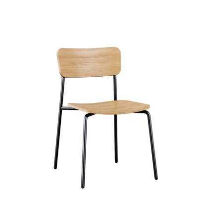 Khachadur Stacking Side Chair - Wayfair
