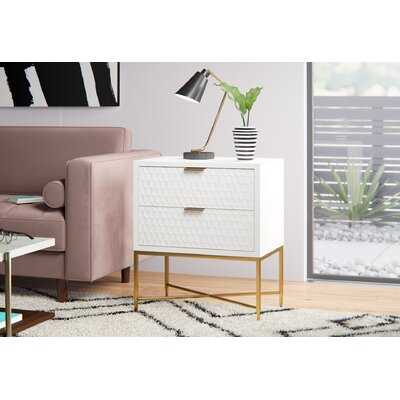 Lylah 2 Drawer Nightstand - AllModern