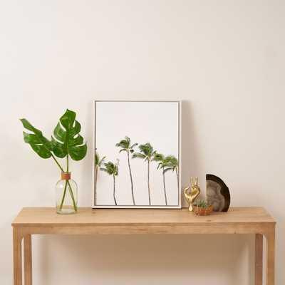 "Minimal Palms by Bree Madden - Art Canvas 16"" x 20"" - Wander Print Co."