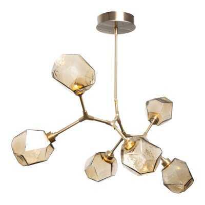 Gem 6 - Light Sputnik Modern Linear LED Chandelier - Wayfair