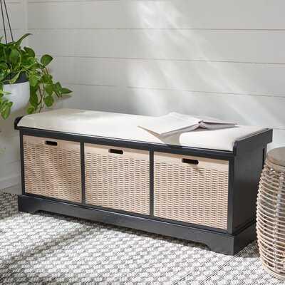 Revilla Drawers Storage Bench - Wayfair