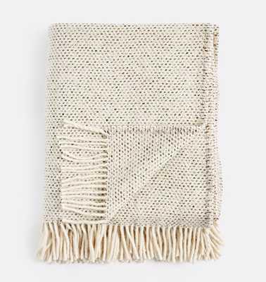 Dapple Tan Donegal Wool Throw - Rejuvenation