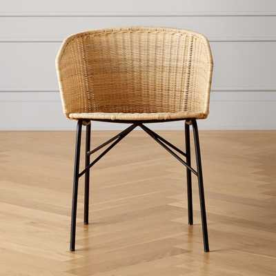 Salinas Rattan Dining Chair - CB2