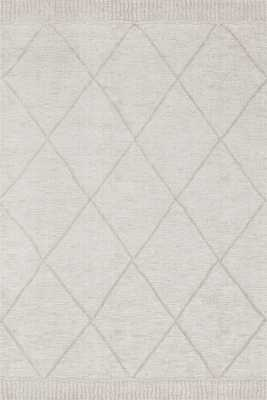 """ED Ellen DeGeneres Crafted by Loloi SONOMA SON-03 GREY / SILVER 5'-3"""" x 7'-6"""" - ED Ellen DeGeneres Crafted by Loloi Rugs"""