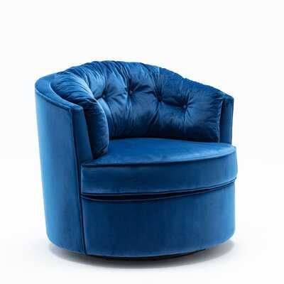 Wieland Swivel Barrel Chair - Wayfair