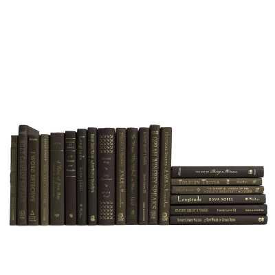 Booth & Williams 20 Piece Custom Fudge Mixed of Minis Authentic Decorative Book Set - Perigold