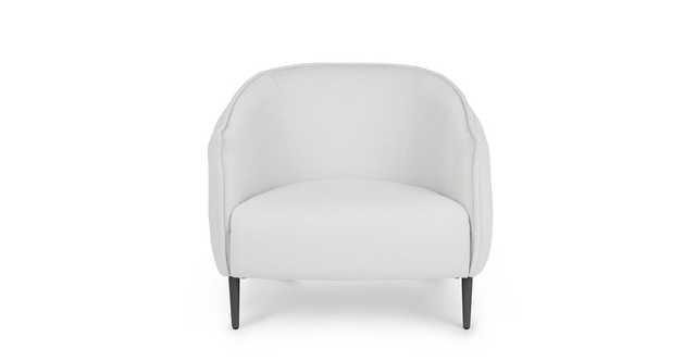Venn Whisper Gray Lounge Chair - Article