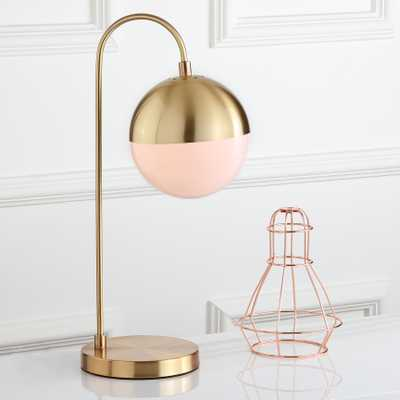 Cappi 20.5-Inch H Table Lamp - Brass Gold - Arlo Home - Arlo Home